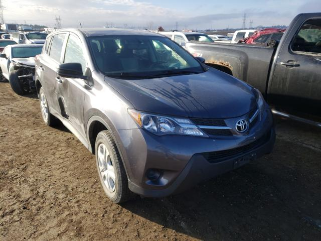 Toyota Rav4 LE salvage cars for sale: 2015 Toyota Rav4 LE