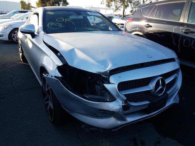 Salvage cars for sale from Copart Martinez, CA: 2017 Mercedes-Benz C300