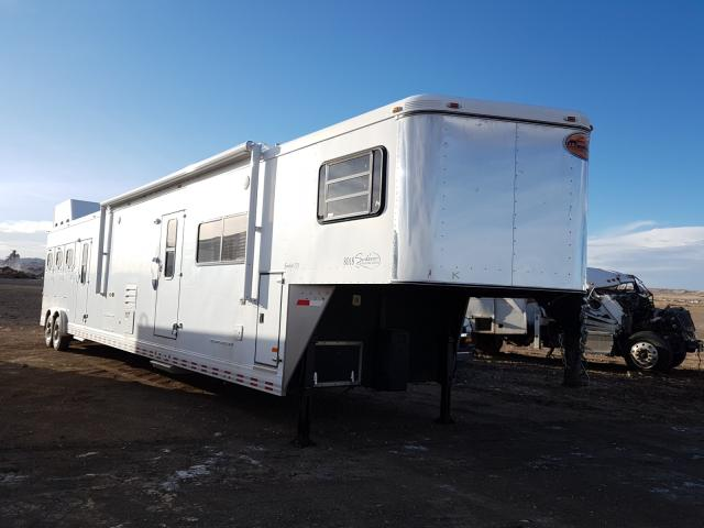 Salvage cars for sale from Copart Billings, MT: 2006 Sundowner Horse Trailer