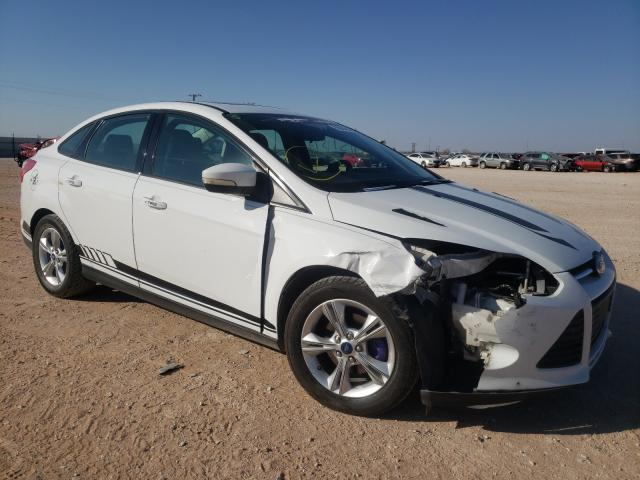 Salvage cars for sale from Copart Andrews, TX: 2013 Ford Focus SE