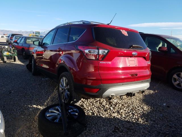 купить 2017 Ford Escape Tit 2.0L 1FMCU9J9XHUA23224