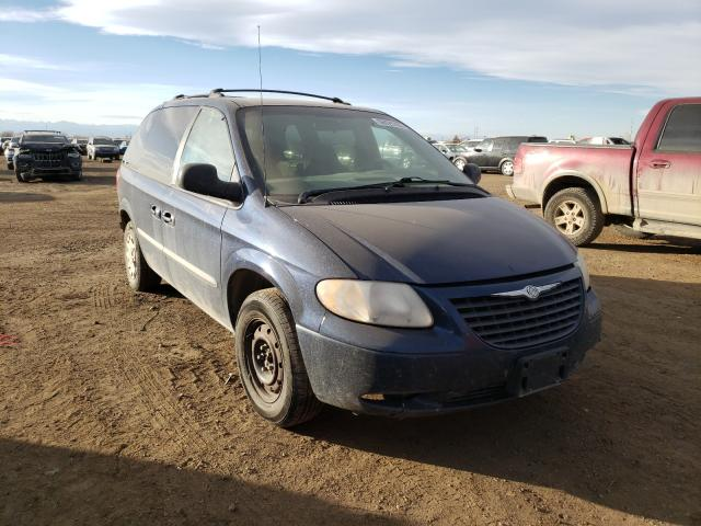 Chrysler Voyager LX salvage cars for sale: 2003 Chrysler Voyager LX