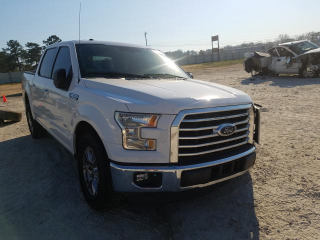 Salvage cars for sale from Copart Newton, AL: 2015 Ford F150 Super