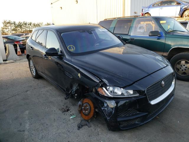 Salvage cars for sale from Copart Windsor, NJ: 2018 Jaguar F-Pace