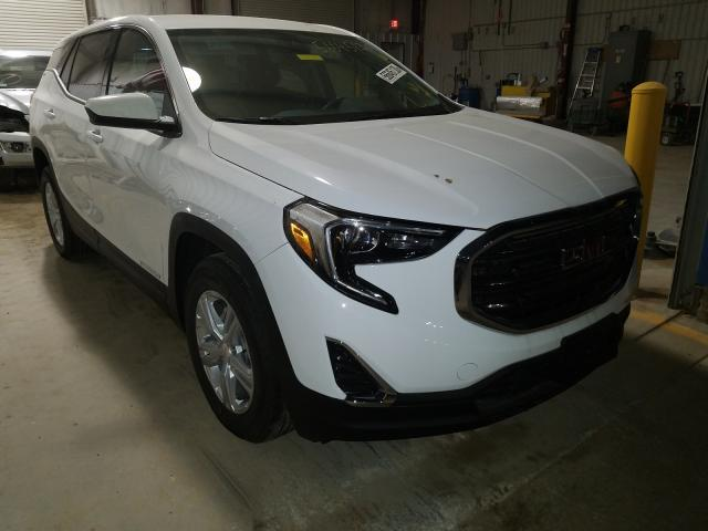 Salvage cars for sale from Copart Bridgeton, MO: 2020 GMC Terrain SL