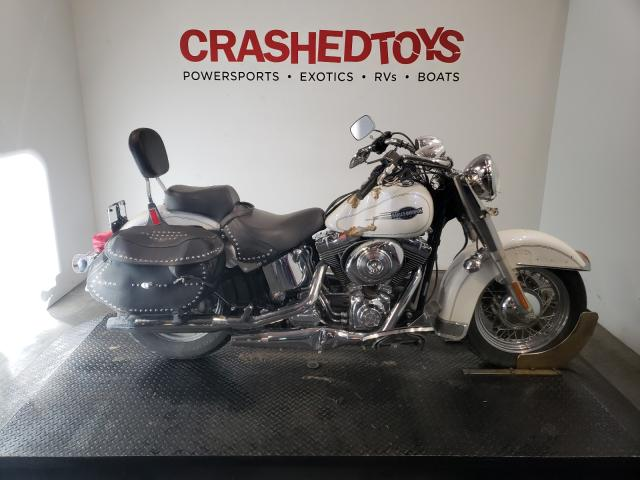 Salvage motorcycles for sale at Austell, GA auction: 2005 Harley-Davidson Flstci