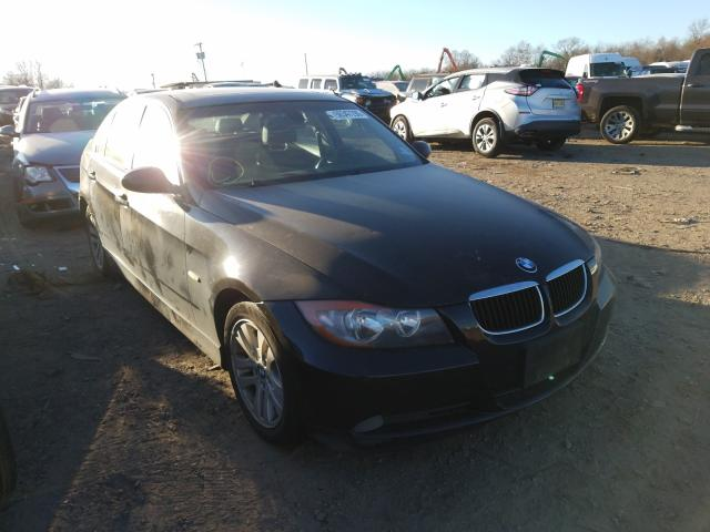 Salvage cars for sale from Copart Marlboro, NY: 2006 BMW 3 Series