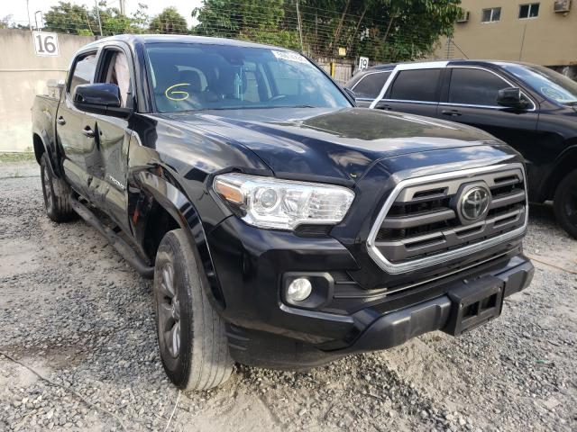 Salvage cars for sale from Copart Opa Locka, FL: 2019 Toyota Tacoma DOU