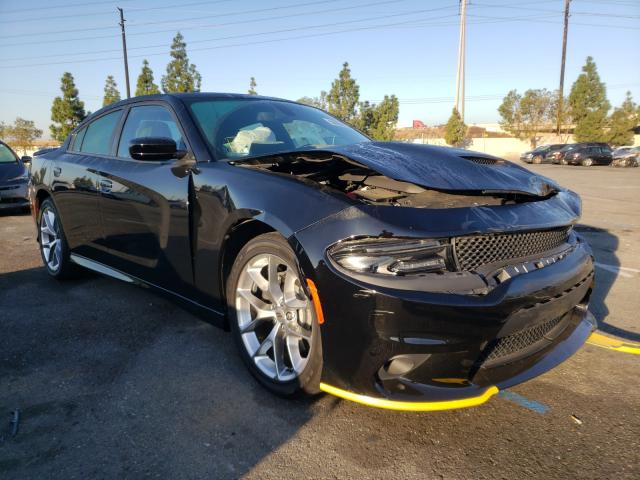 Salvage cars for sale from Copart Rancho Cucamonga, CA: 2020 Dodge Charger GT