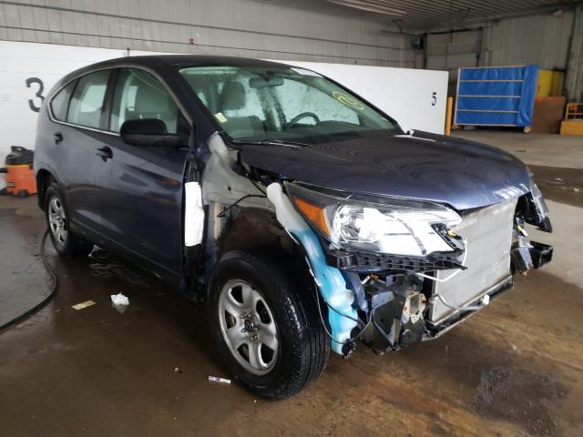 Salvage cars for sale from Copart Candia, NH: 2013 Honda CR-V LX