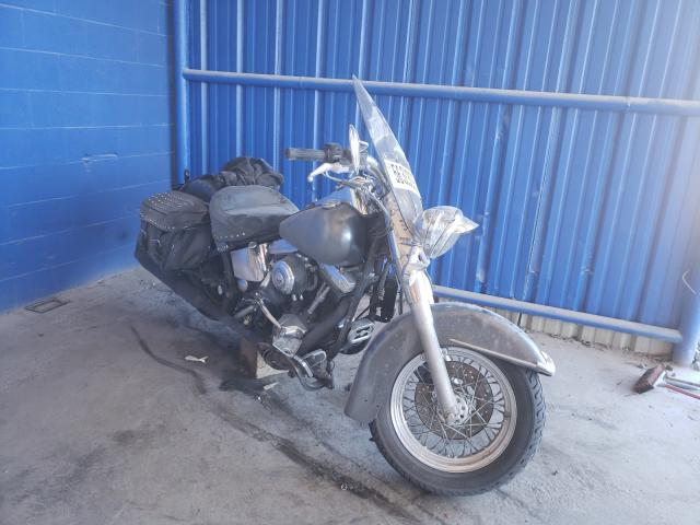 Salvage cars for sale from Copart Cartersville, GA: 1999 Harley-Davidson Flstc