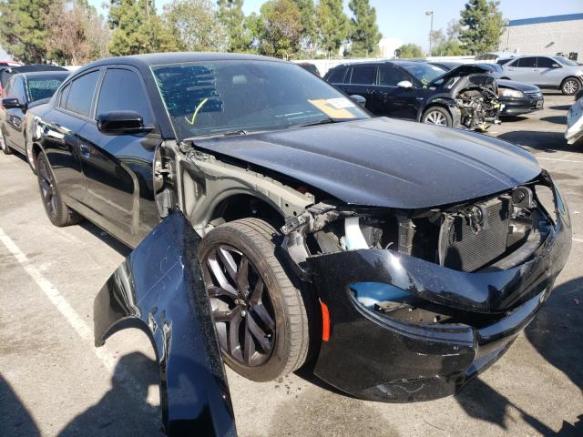Salvage cars for sale from Copart Rancho Cucamonga, CA: 2019 Dodge Charger SX