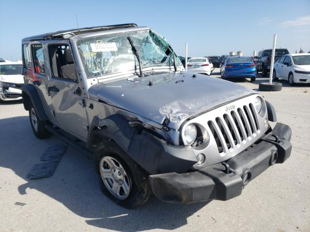 Salvage cars for sale from Copart New Orleans, LA: 2016 Jeep Wrangler U