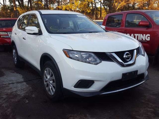 Nissan Rogue S salvage cars for sale: 2015 Nissan Rogue S