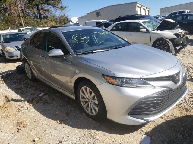 Salvage cars for sale from Copart Gainesville, GA: 2020 Toyota Camry LE