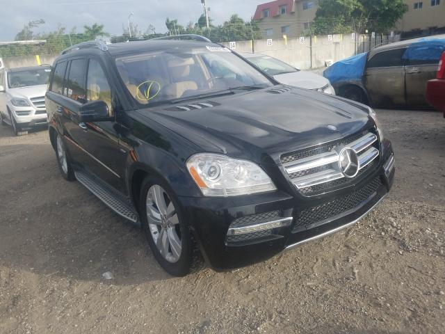 Salvage cars for sale from Copart Opa Locka, FL: 2012 Mercedes-Benz GL 350 BLU