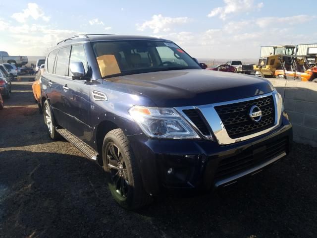 Salvage cars for sale from Copart Albuquerque, NM: 2019 Nissan Armada PLA