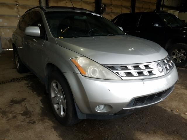 Salvage cars for sale from Copart Graham, WA: 2005 Nissan Murano SL