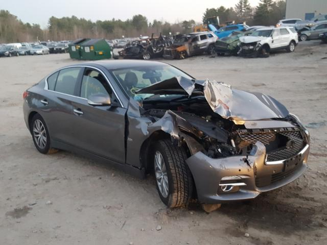 Infiniti Q50 Base salvage cars for sale: 2016 Infiniti Q50 Base