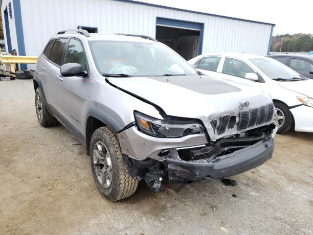 Salvage cars for sale from Copart Shreveport, LA: 2019 Jeep Cherokee T