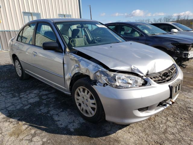 Salvage cars for sale from Copart Chambersburg, PA: 2005 Honda Civic LX