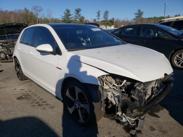 Salvage cars for sale from Copart Exeter, RI: 2015 Volkswagen GTI
