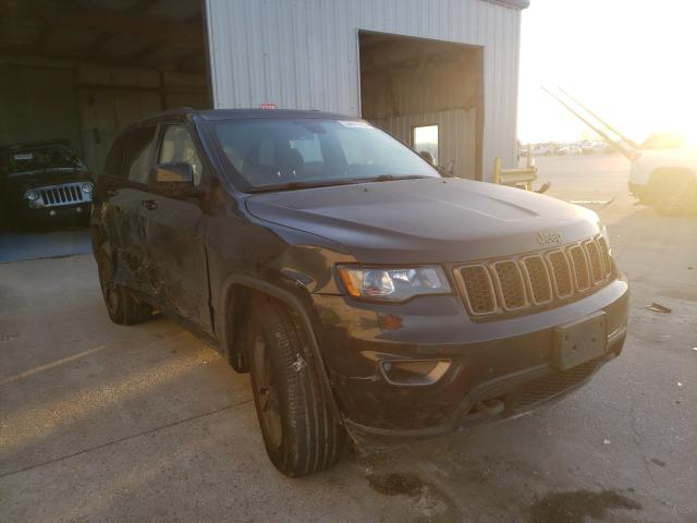 Salvage cars for sale from Copart New Orleans, LA: 2016 Jeep Grand Cherokee