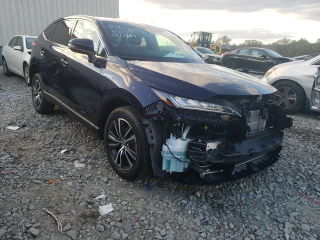 Salvage cars for sale from Copart Byron, GA: 2021 Toyota Venza LE