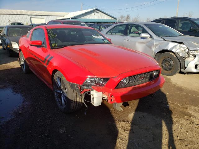 Salvage cars for sale from Copart Pekin, IL: 2013 Ford Mustang GT