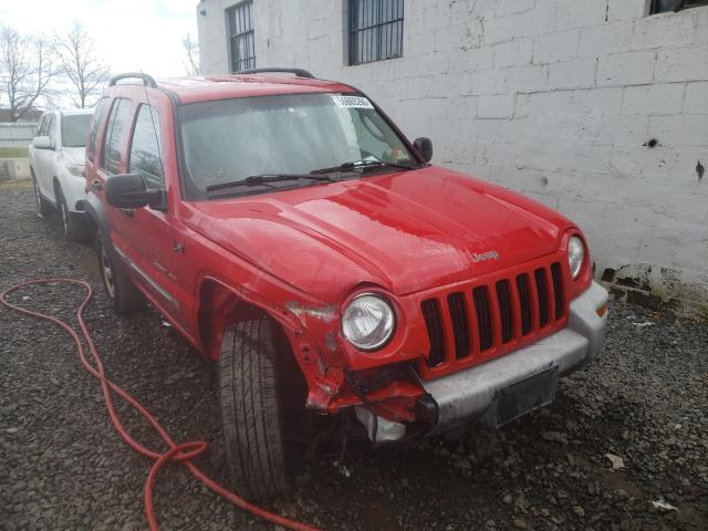 Jeep Vehiculos salvage en venta: 2002 Jeep Liberty SP