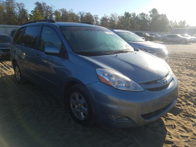 Salvage cars for sale from Copart Gaston, SC: 2007 Toyota Sienna XLE