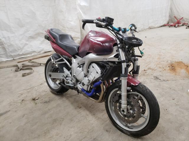 Yamaha salvage cars for sale: 2005 Yamaha FZ6 S