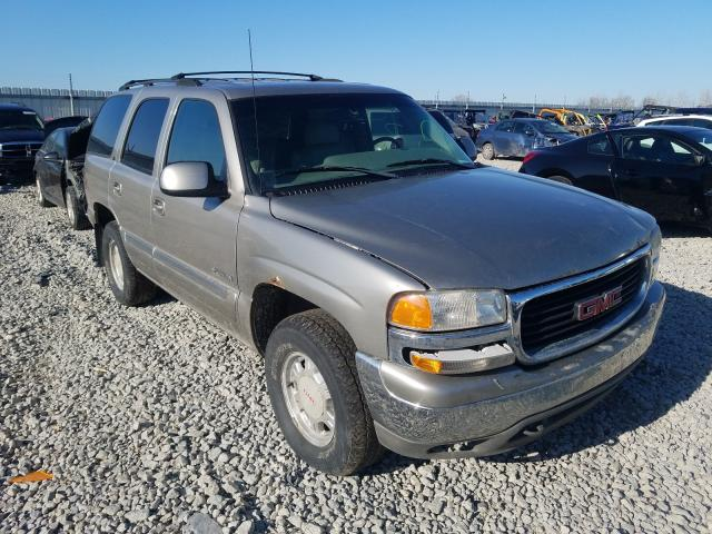 Salvage cars for sale from Copart Appleton, WI: 2000 GMC Yukon