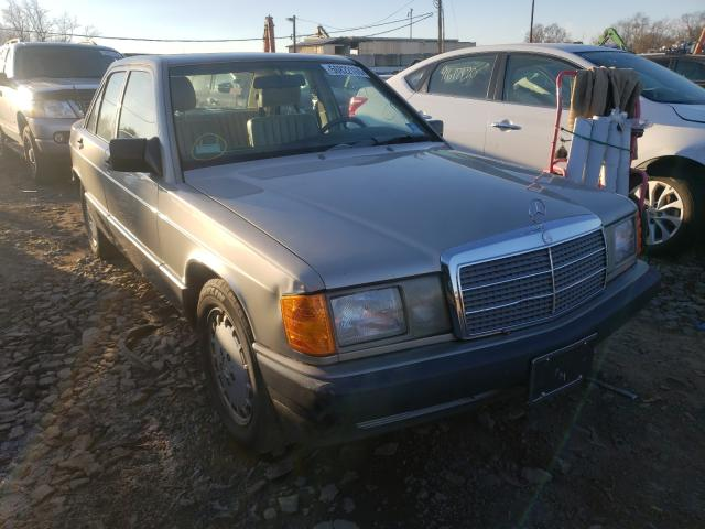 Mercedes-Benz 190 E 2.6 salvage cars for sale: 1991 Mercedes-Benz 190 E 2.6