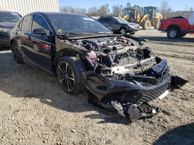2018 Toyota Camry XSE en venta en Spartanburg, SC