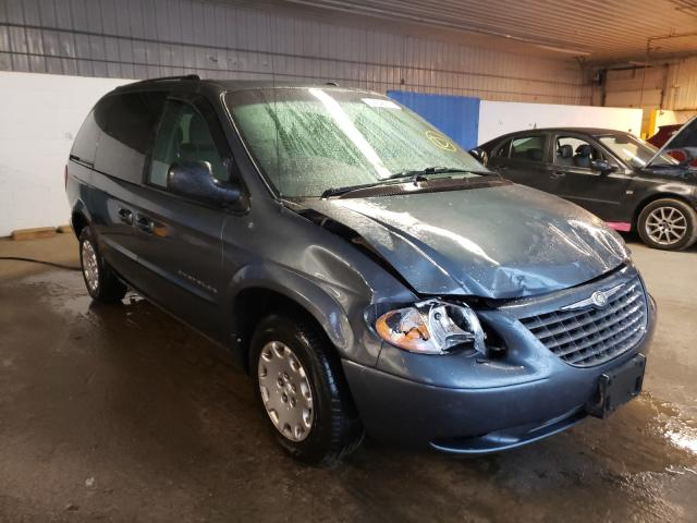 Chrysler Voyager LX salvage cars for sale: 2001 Chrysler Voyager LX