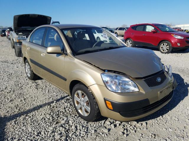 Salvage cars for sale from Copart Appleton, WI: 2009 KIA Rio Base