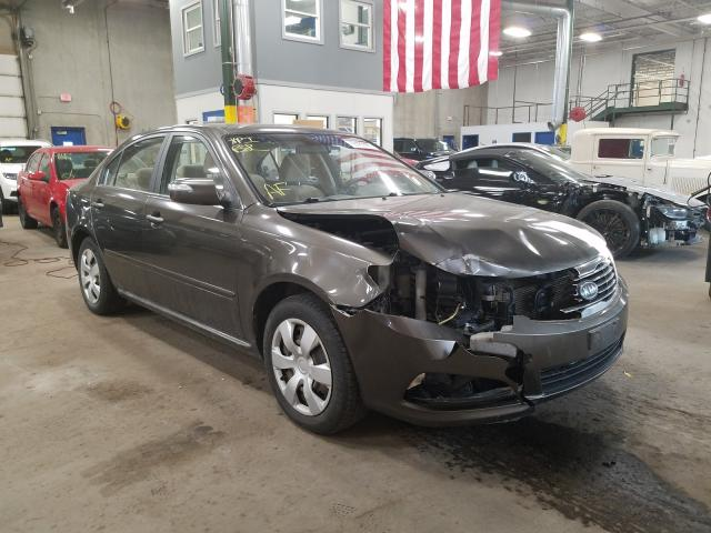 KIA Optima salvage cars for sale: 2010 KIA Optima