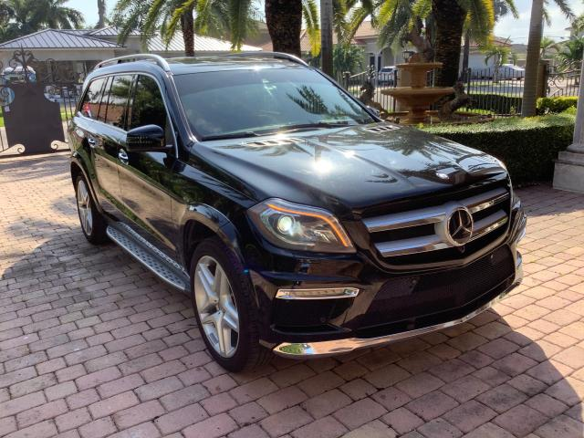 Salvage cars for sale from Copart Opa Locka, FL: 2014 Mercedes-Benz GL 550 4matic