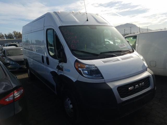 Salvage cars for sale from Copart Colton, CA: 2020 Dodge RAM Promaster