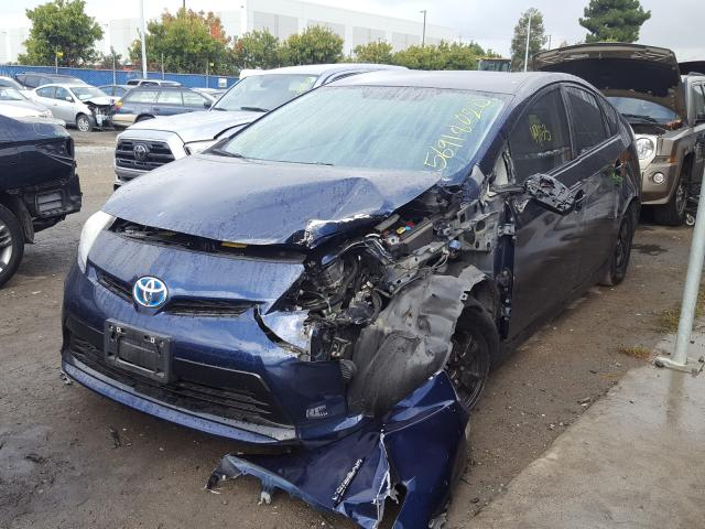 из сша 2013 Toyota Prius 1.8L JTDKN3DU5D1714294
