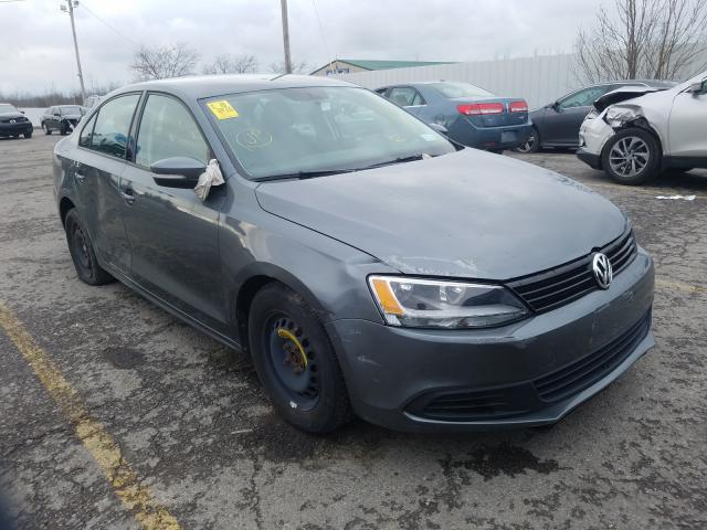 Salvage cars for sale from Copart Angola, NY: 2012 Volkswagen Jetta SE