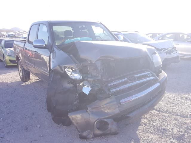 Salvage cars for sale from Copart Madisonville, TN: 2004 Toyota Tundra DOU