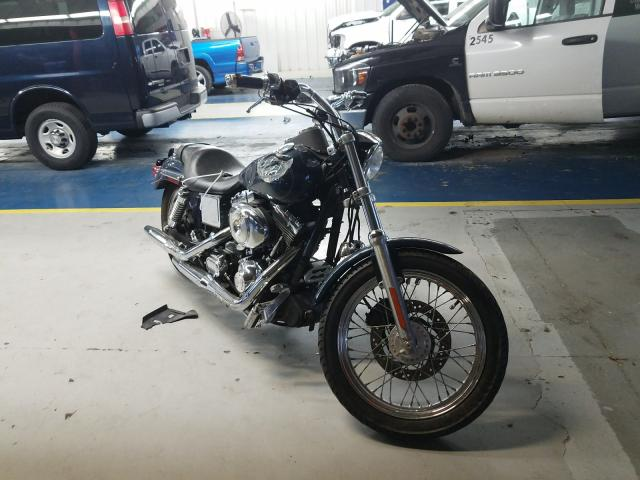 Salvage cars for sale from Copart Fort Wayne, IN: 2001 Harley-Davidson Fxdl