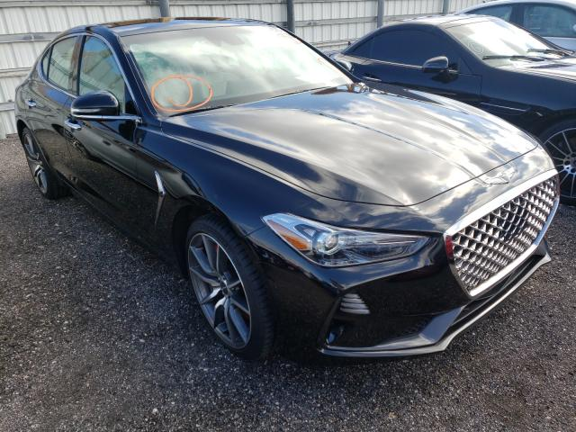 Genesis salvage cars for sale: 2020 Genesis G70 Sport
