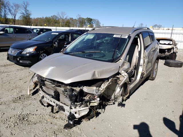 из сша 2017 Ford Escape Tit 2.0L 1FMCU0J95HUD34734