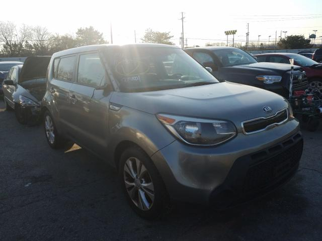 Salvage cars for sale from Copart Moraine, OH: 2015 KIA Soul +