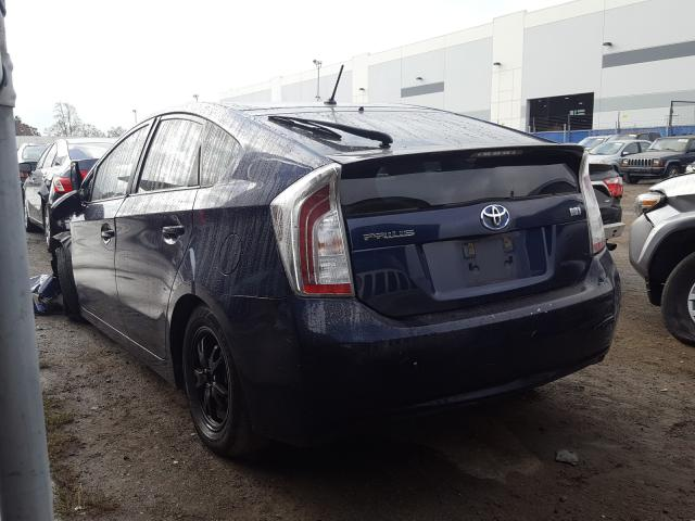 купить 2013 Toyota Prius 1.8L JTDKN3DU5D1714294