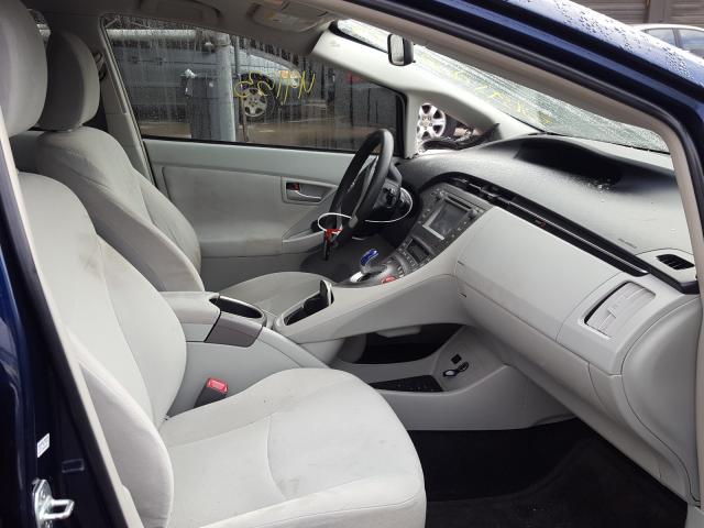пригнать из сша 2013 Toyota Prius 1.8L JTDKN3DU5D1714294