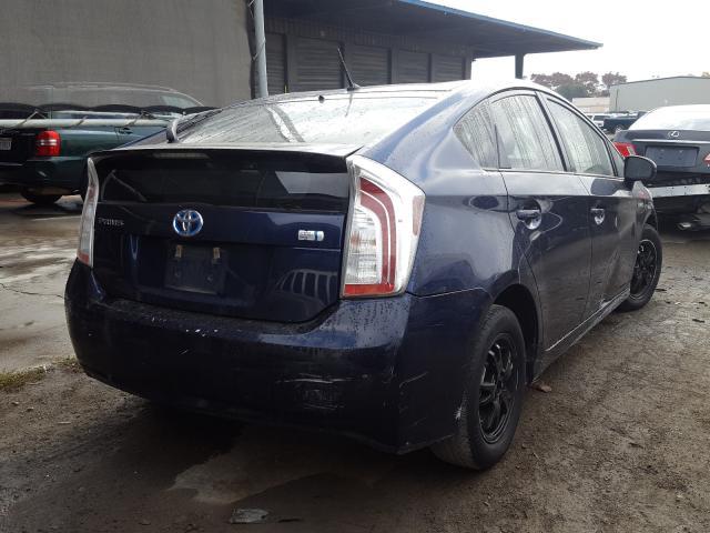 цена в сша 2013 Toyota Prius 1.8L JTDKN3DU5D1714294